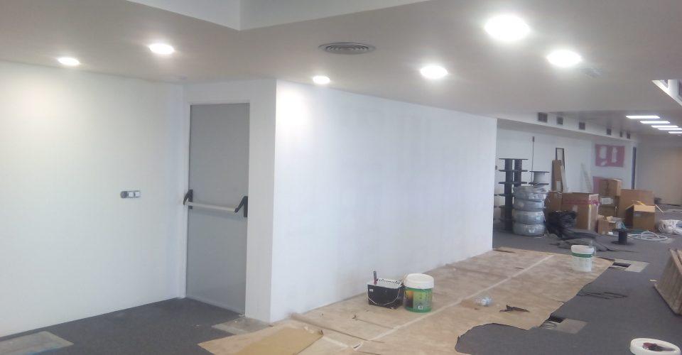 Muebles de pladur tabiques techos trasdosados cortafuegos - Techos registrables pladur ...